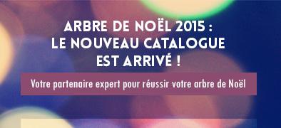 Arbre de Noël 2015 : le nouveau catalogue est arrivé