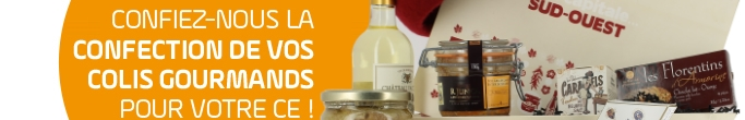 Confiez-nous la confection de vos colis gourmands pour votre ce !