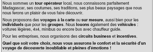 Voyages comités d'entreprise et groupes